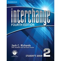 Interchange 2 (4/E) Student's Book + Self-study DVD-ROM