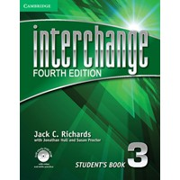 Interchange 3 (4/E) Student's Book + Self-study DVD-ROM